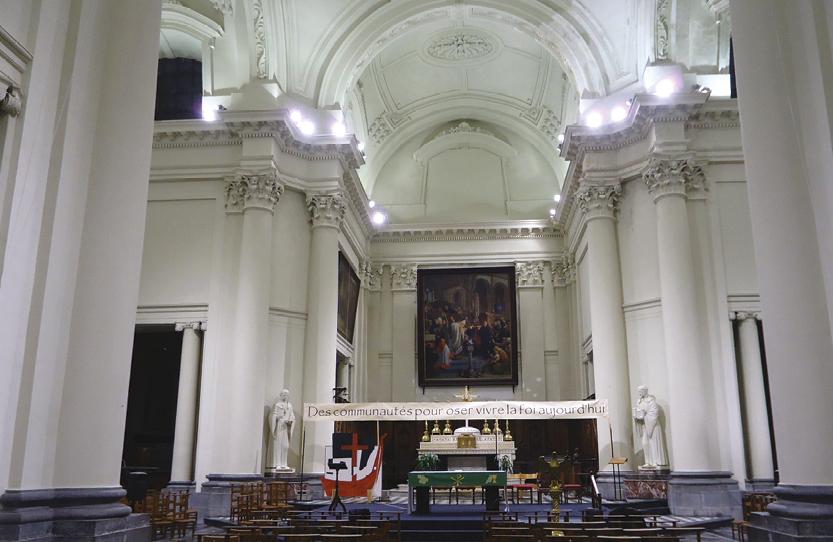 Sinistre de l'église Saint-Guibert